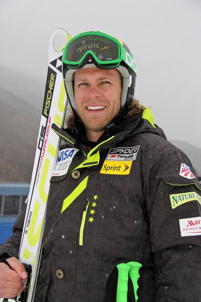 2011-12 U.S. Alpine Ski Team Steven Nyman Photo: Eric Schramm