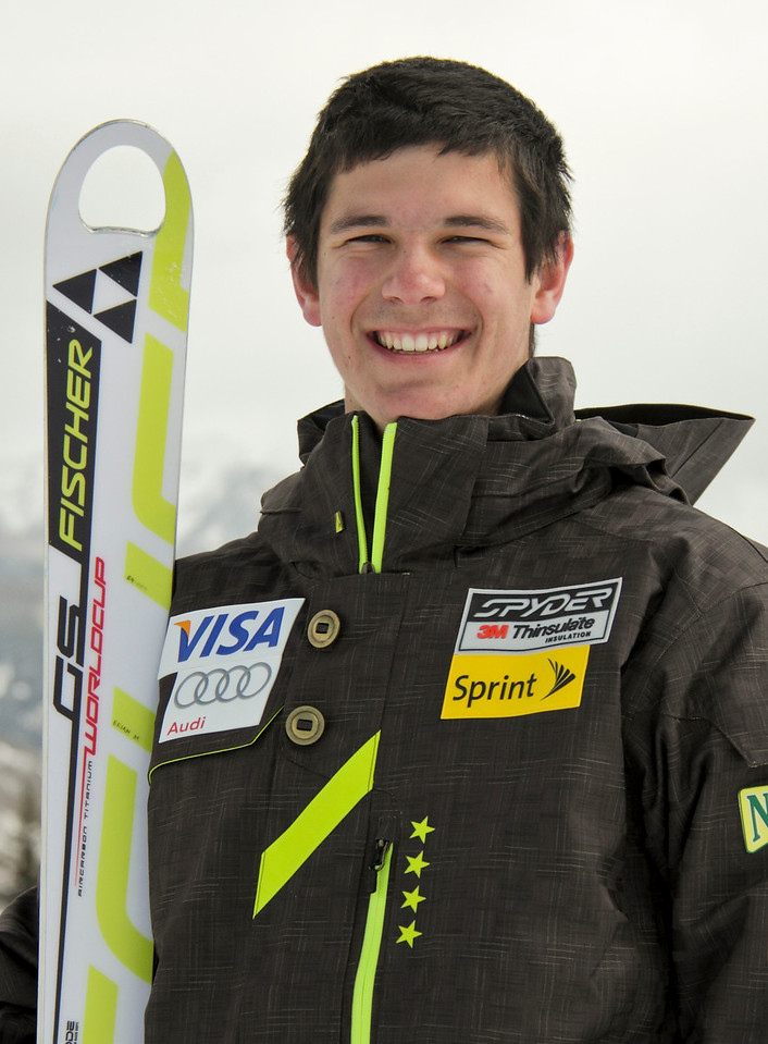 2011-12 U.S. Alpine Ski Team Brian McLaughlen Photo: Eric Schramm