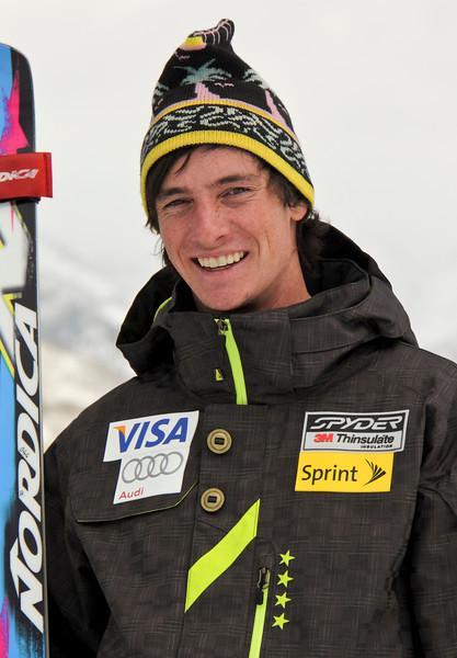 2011-12 U.S. Alpine Ski Team Brennen Rubie Photo: Eric Schramm