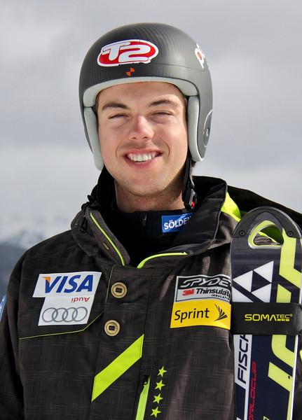 2011-12 U.S. Alpine Ski Team Colby Granstrom Photo: Eric Schramm