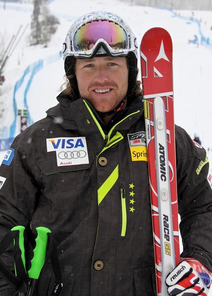 2011-12 U.S. Alpine Ski Team Erik Fischer Photo: Eric Schramm