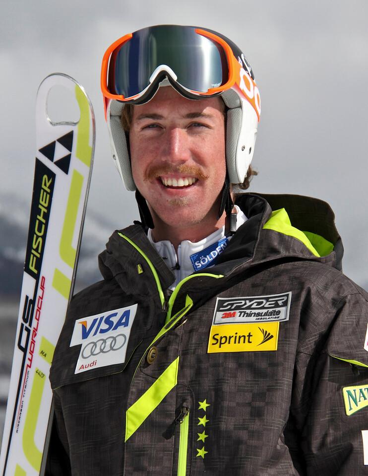 2011-12 U.S. Alpine Ski Team Michael Ankeny Photo: Eric Schramm