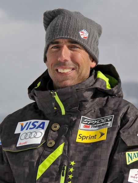 2011-12 U.S. Alpine Ski Team Brad Saxe, Technician Photo: Eric Schramm