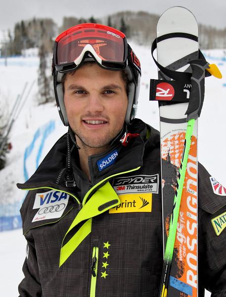 2011-12 U.S. Alpine Ski Team Tommy Biesemeyer Photo: Eric Schramm