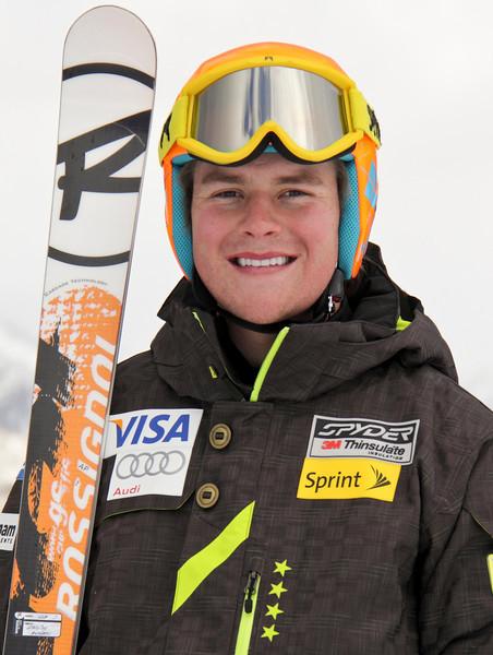 2011-12 U.S. Alpine Ski Team Andy Phillips Photo: Eric Schramm