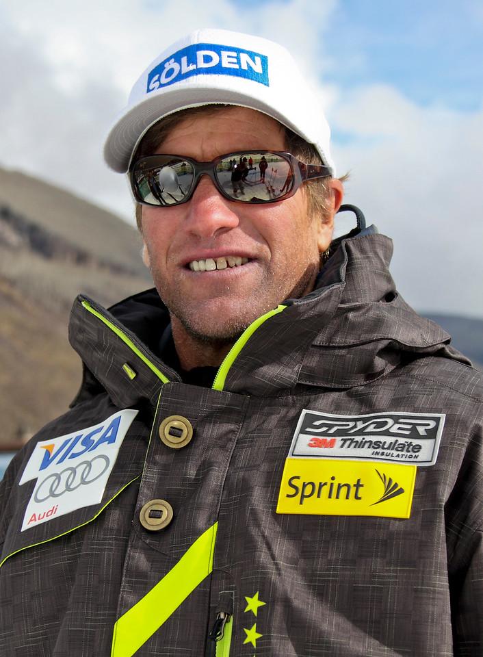 2011-12 U.S. Alpine Ski Team Mike Kenney, World Cup Speed Coach Photo: Eric Schramm