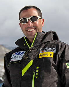 2011-12 U.S. Alpine Ski Team Chris Antinori, Physical Therapist Photo: Eric Schramm