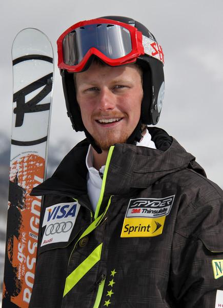 2011-12 U.S. Alpine Ski Team Seppi Stiegler Photo: Eric Schramm
