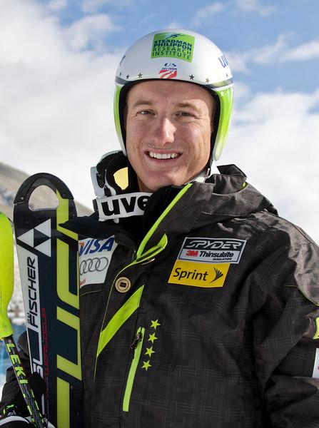 2011-12 U.S. Alpine Ski Team Tim Jitloff Photo: Eric Schramm