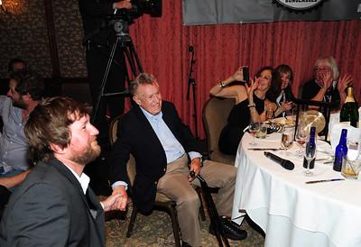 Friends gathered at Aspen's historic Hotel Jerome to honor Coach Bob Beattie. (Tom Kelly)