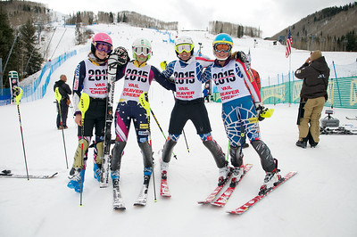 Resi Stiegler, Sarah Schleper, Hailey Duke and Mikaela Shiffrin  (Tom Green/Vail Resorts)
