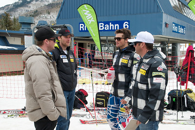 Will Brandenburg, Tommy Biesemeyer and Mike Day  (Tom Green/Vail Resorts)