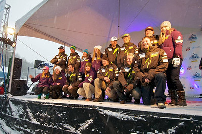 First Tracks - the Alpine Team Announcement - presented by Nature Valley at Vail, CO (Tom Green/Vail Resorts)