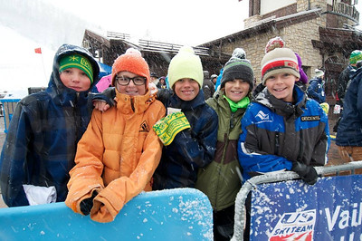 Fans at First Tracks - the Alpine Team Announcement - presented by Nature Valley at Vail, CO (Tom Green/Vail Resorts)