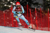 Julia Ford in action during the first downhill from Lake Louise (Malcolm Carmichael/Alpine Canada)