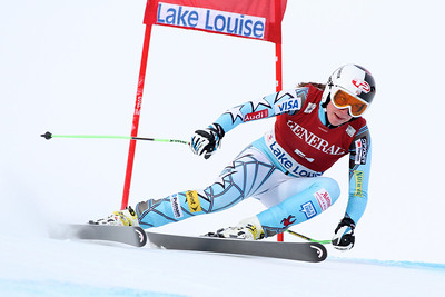 Kiley Staples  Audi FIS Alpine World Cup downhill in Lake Louise (Malcolm Carmichael/Alpine Canada)