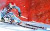 Julia Ford rips the second downhill training run in Lake Louise (Malcolm Carmichael/Alpine Canada)