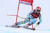 Julia Ford competes in the second Audi FIS Alpine World Cup downhill in Lake Louise (Malcolm Carmichael/Alpine Canada)