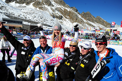 Audi FIS Alpine World Cup opener in Soelden, Austria. (c) 2011 U.S. Ski Team/Tom Kelly