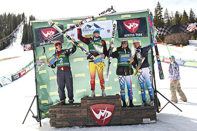 Nature Valley U.S. Alpine Championships - Winter Park, CO - March 28-April 1, 2012 Super G Photo: U.S. Ski Team