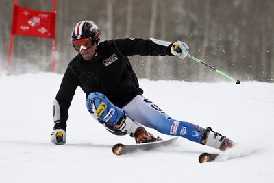 Tommy Biesemeyer U.S. Ski Team men's alpine train on Golden Peak at Vail November 8, 2011 Photo © Eric Schramm Image may be used for editorial use only.