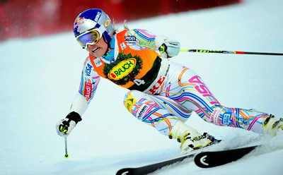 Lindsey Vonn secured a historic fourth Audi FIS Alpine World Cup title with a giant slalom victory in Are, Sweden (Pernila Hammar Rognøy/Are Destinations)