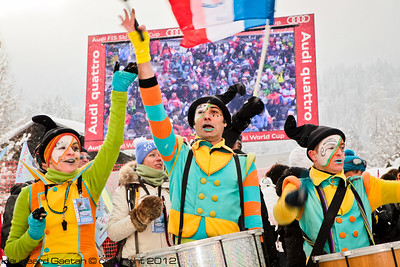 Bands entertain the fans in Chamonix (Haugeard Gaeton)