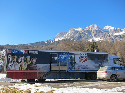 The new U.S. Ski Team mobile nutrition center sponsored by Soelden/Oetztal/Obergurgl-Hochgurgl, the official European Training Base for the U.S. Ski Team (Doug Haney/U.S. Ski Team)