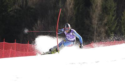 Will Brandenburg lands a career best sixth in the Kranjska Gora slalom (Primoz Jeroncic/PhotoSI.com)