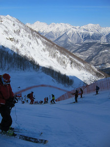 The men's Audi FIS Alpine World Cup tour makes it's inaugural stop in Russia as a test event for the 2014 Olympic Winter Games in Sochi. The alpine events will be held in nearby Rosa Khutor (Doug Haney/U.S. Ski Team)