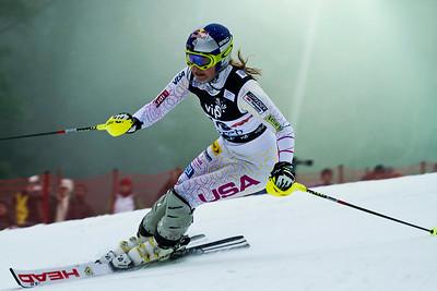 Lindsey Vonn Audi FIS World Cup, Zagreb, Croatia January 3, 2012 Photo: Kevin Pritchard