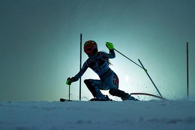 Resi Stiegler Audi FIS World Cup, Zagreb, Croatia January 3, 2012 Photo: Kevin Pritchard