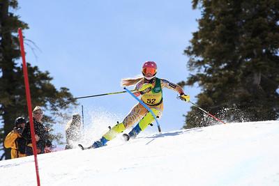 Kaitlyn Gibson Women's Slalom 2013 Nature Valley U.S. Alpine Championships at Squaw Valley, California Photo: Sarah Brunson/U.S. Ski Team