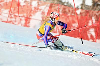 Katie Farrow Women's Slalom 2013 Nature Valley U.S. Alpine Championships at Squaw Valley, California Photo: Sarah Brunson/U.S. Ski Team