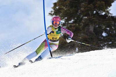 Dayna Larsen Women's Slalom 2013 Nature Valley U.S. Alpine Championships at Squaw Valley, California Photo: Sarah Brunson/U.S. Ski Team
