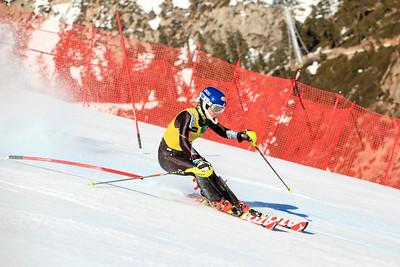Mikaela Shiffrin Women's Slalom 2013 Nature Valley U.S. Alpine Championships at Squaw Valley, California Photo: Sarah Brunson/U.S. Ski Team