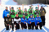 2012-13 U.S. Alpine Ski Team<br /> Men's Speed A-Team<br /> Back row (left to right): Andreas Evers, Marco Sullivan, Erik Fisher, Andrew Weibrecht, Steven Nyman, Travis Ganong, TJ Lanning<br /> Front row: Chris Antinori, Shawn Gaisford (Factory Service), Sasha Rearick, Scotty Veenis, Tom Smale<br /> Photo: U.S. Ski Team