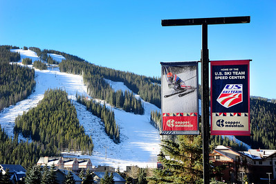 Opening day at the U.S. Ski Team Speed Center at Copper. (Tom Kelly/USSA)
