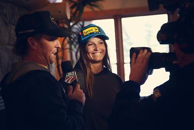 Julia Mancuso 2012 Vendor Summit at the U.S. Ski Team Speed Center at Copper Mountain. Photo: U.S. Ski Team