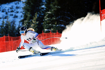Elena Yakovishina (RUS) 2012 U.S. Ski Team invitational NorAm qualifications at the U.S. Ski Team Speed Center at Copper Mountain. Photo: U.S. Ski Team