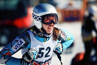 Lila Lapanja 2012 U.S. Ski Team invitational NorAm qualifications at the U.S. Ski Team Speed Center at Copper Mountain. Photo: U.S. Ski Team