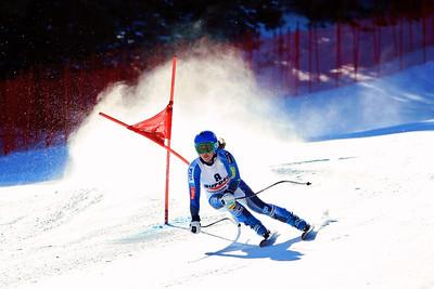Leanne Smith 2012 U.S. Ski Team invitational NorAm qualifications at the U.S. Ski Team Speed Center at Copper Mountain. Photo: U.S. Ski Team