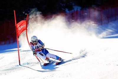 Fabienne Suter (SUI) 2012 U.S. Ski Team invitational NorAm qualifications at the U.S. Ski Team Speed Center at Copper Mountain. Photo: U.S. Ski Team
