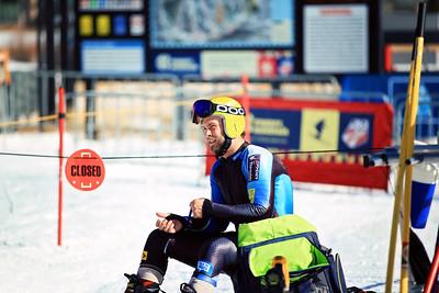 Travis Ganong 2012 U.S. Ski Team invitational NorAm qualifications at the U.S. Ski Team Speed Center at Copper Mountain. Photo: U.S. Ski Team