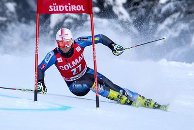 ALTA BADIA, ITALY - DECEMBER 16: Tim Jitloff of USA races down the Gran Risa course whilst competing in the Audi FIS Alpine Ski World Cup Giant Slalom race on December 16 2012 in Alta Badia, Italy. (Photo by Mitchell Gunn/ESPA) *** Local Caption *** Tim Jitloff