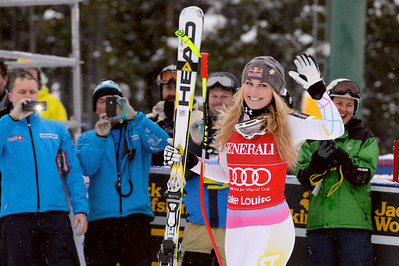 Lindsey Vonn Audi FIS Alpine World Cup - Lake Louise, Canada - Nov. 30-Dec. 2 Photo © Roger Witney Image may be used for editorial use only.