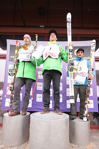 First place: Jared Goldberg, Second place: Bryce Bennett, Third place: Tommy Biesmeyer Nature Valley U.S. Alpine Championships - Downhill Copper Mountain Photo © Tripp Faye/Copper Mountain Image may be used for editorial use only.