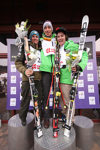Ryan Cochran-Siegle, Bryce Bennett and Nicholas Krause Nature Valley U.S. Alpine Championships - Downhill junior podium Copper Mountain Photo © Tripp Faye/Copper Mountain Image may be used for editorial use only.