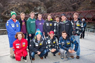 The men's U.S. Ski Team in New Zealand (New Zealand Tourism