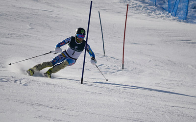 Tommy Ford competes in the FIS Southern Cup race hosted by Japan at Coronet Peak (Christoper Davies/Coronet Peak)